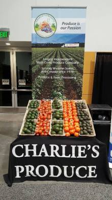 Charlie's Produce display