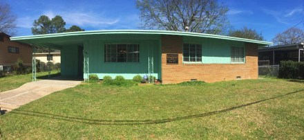 Home of Civil Rights leader Medgar Evers in Jackson, Mississippi (Photo by Marissa Fortier)