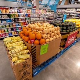 Whole Foods Market winter squash display
