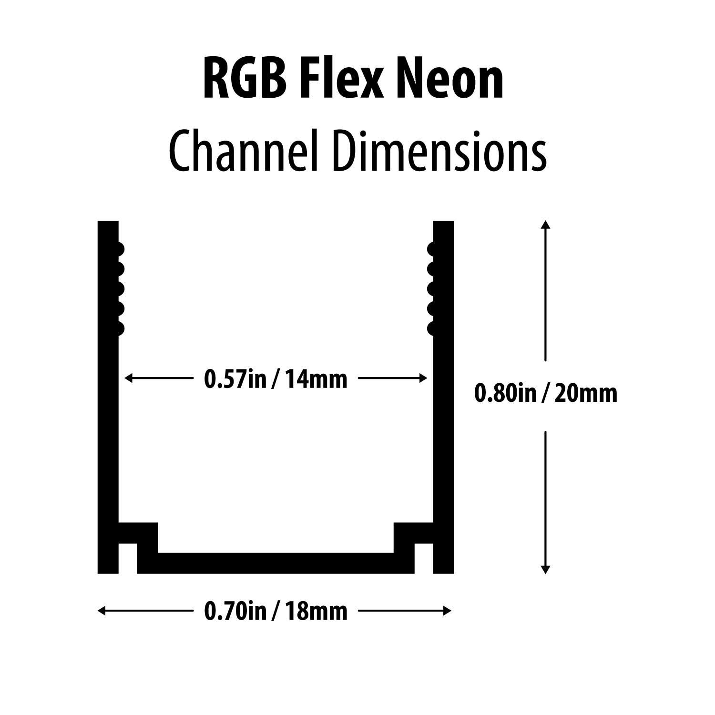 Bracket For Rgb Neon Led Strip Light