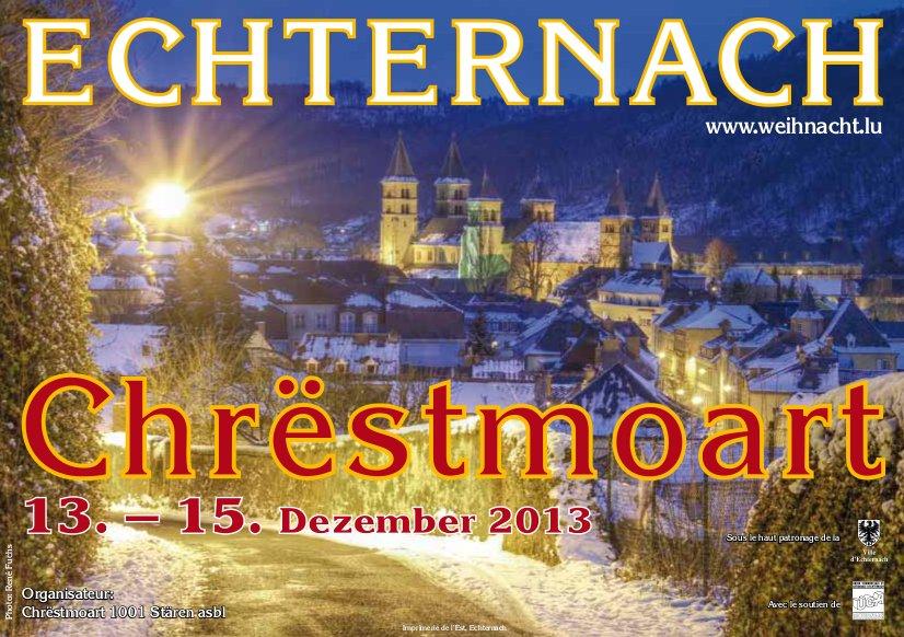 Weihnachstmarkt in Echternach!