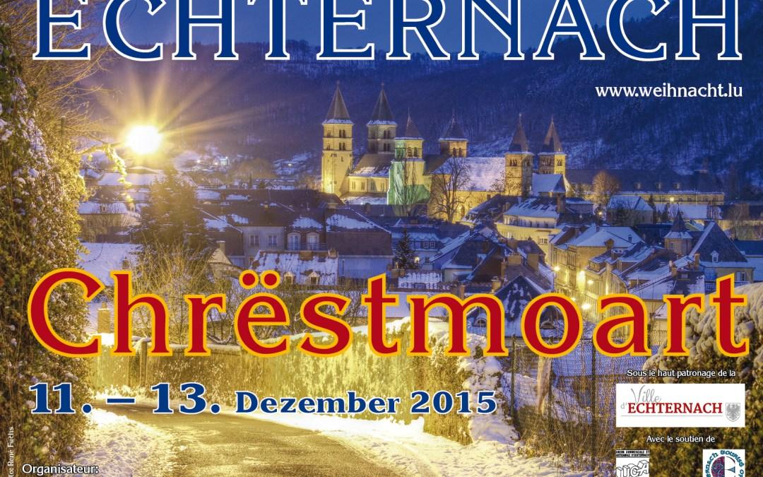 Solidaresch Aktioun um Kreschtmoart zu Echternach.