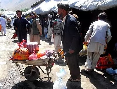 Afghanistan distribution alimentaires