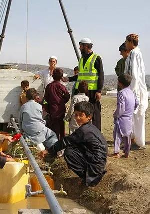 khost afghanistan canaux distribution eau