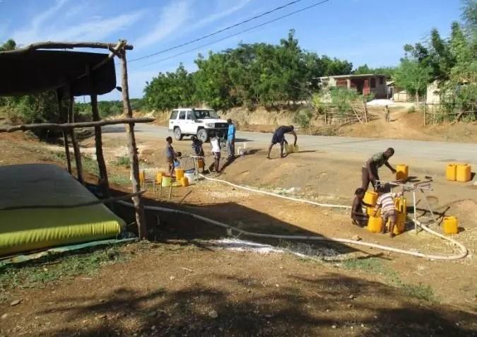eau potable Haïti