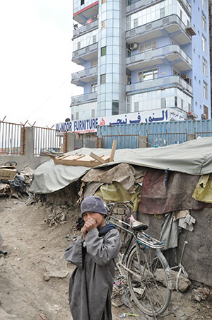 enfant déplacé afghanistan
