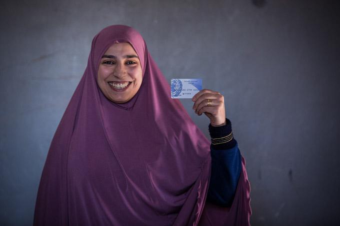 bénéficiaire femme aide monétaire