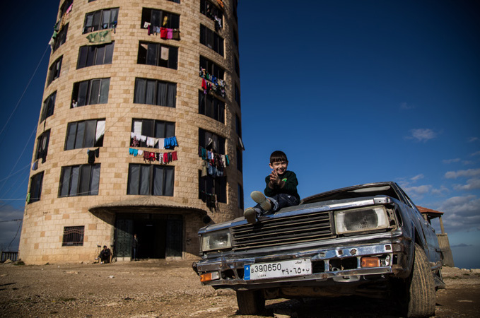 Liban enfant ville