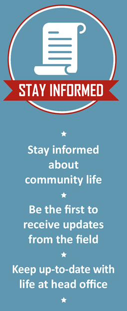 reasons to join take stay infomed