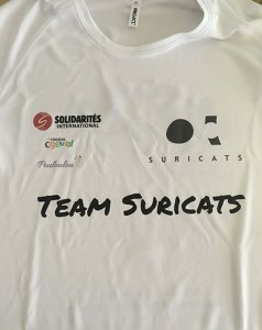 T-shirt Suricats - SOLIDARITES INTERNATIONAL