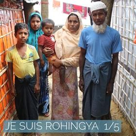 témoigange famille rohingya