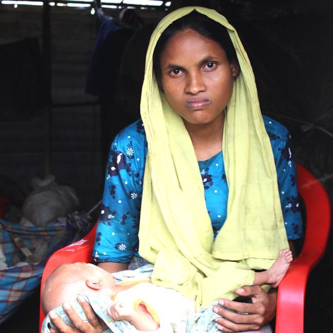 mère rohingya