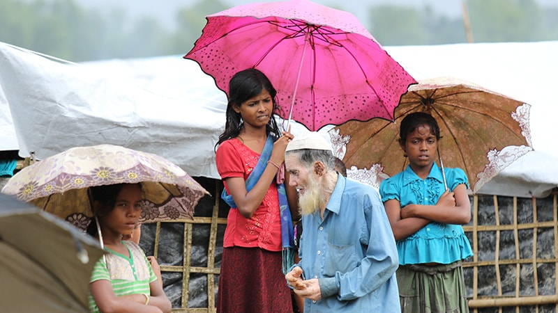 réfugiés rohingyas au bangladesh