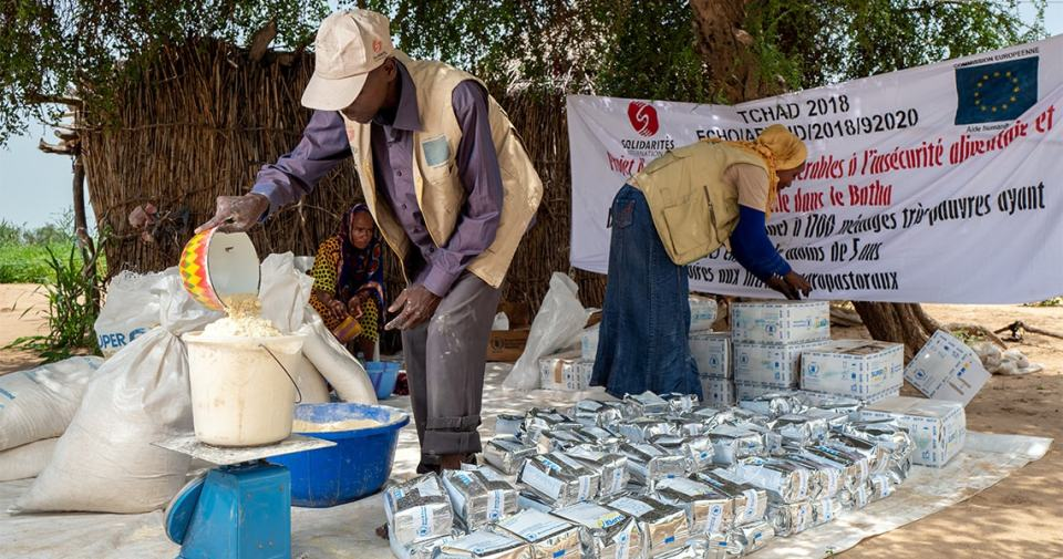 tchad distribution alimentaire