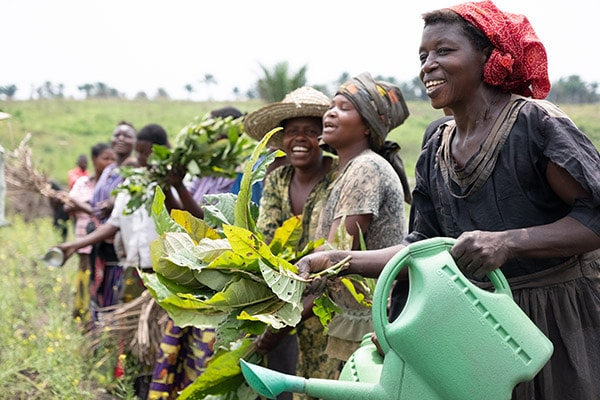 champ femmes Kasai RD Congo