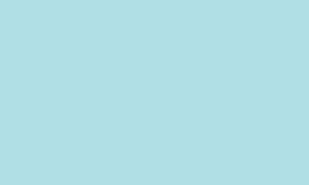 1280x768 Powder Blue Web Solid Color Background