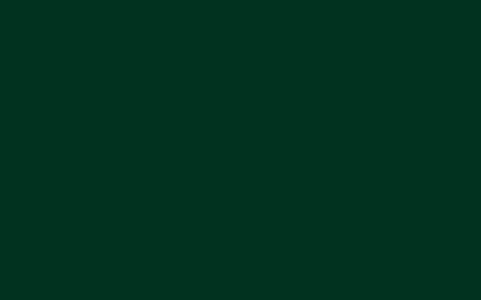 1680x1050 Dark Green Solid Color Background