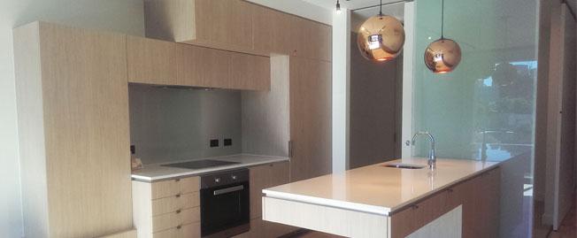 102/97 Palmerston Crescent kitchen area
