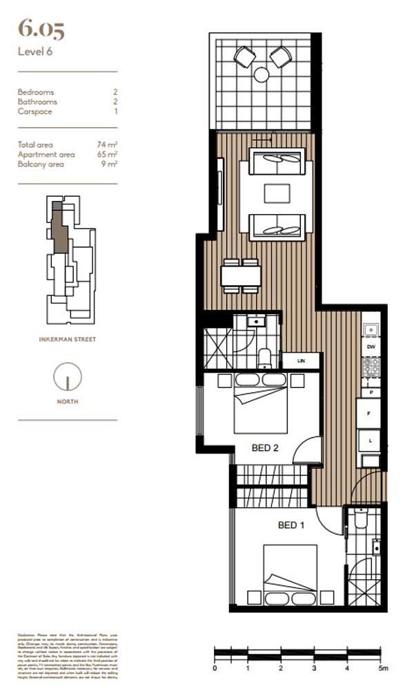made floor plan 605