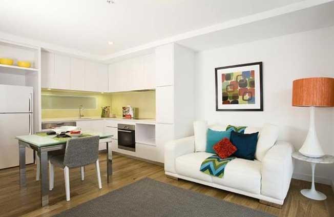 530/70 Nott Street Port Melbourne Living room