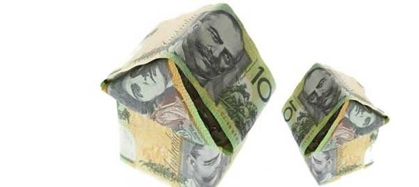 Australian Money house shape