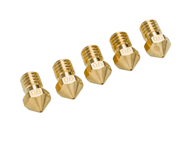 5 x Ultimaker Nozzle Pack 0.6mm
