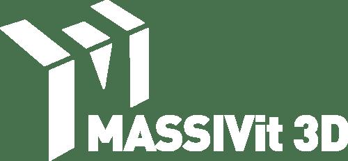 MASSIVIT Logo Whole White