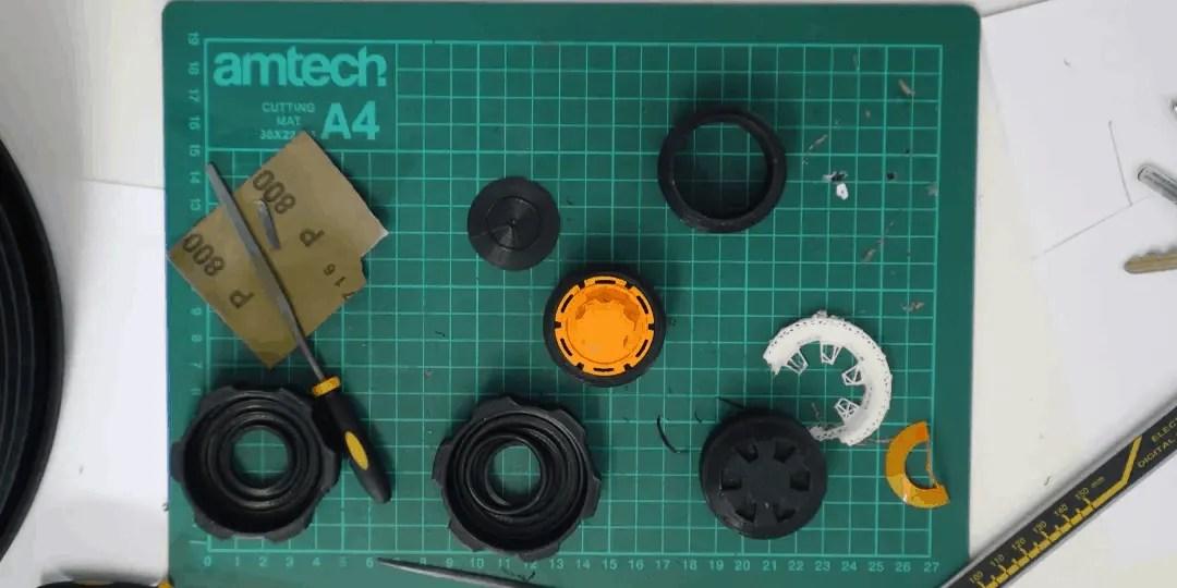 Idea-Reality-Cap-Valve Prototypes