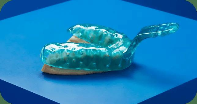 Custom Tray Resin impression mould 2