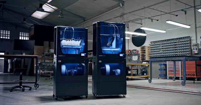 BCN3D Smart Cabinet in use with the w50 and w27