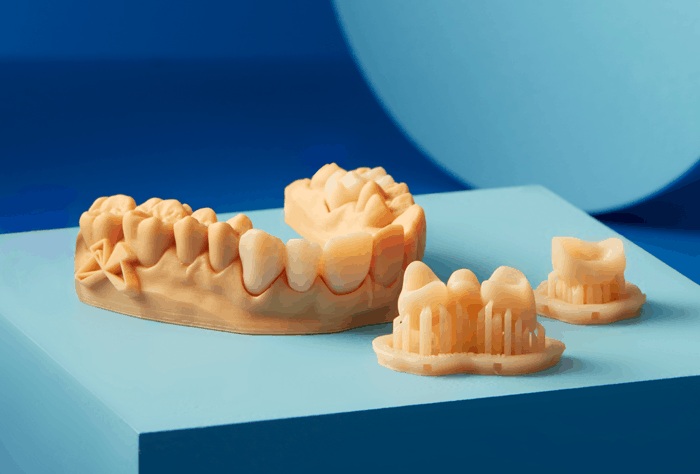 what does a dental 3d printing machine do