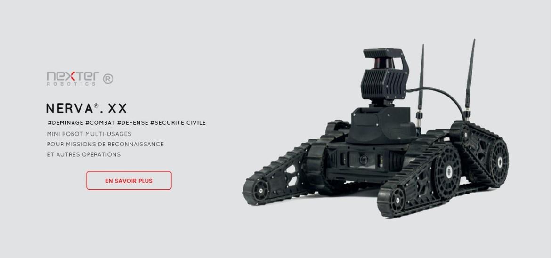 robot multi-usage mission de reconnaissance