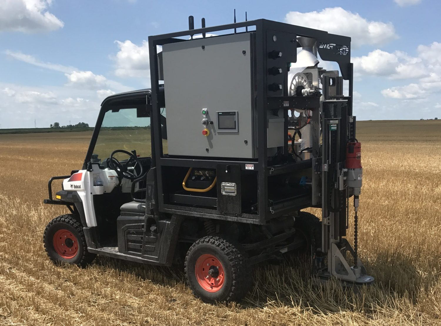 Automated Precision Soil Sampler