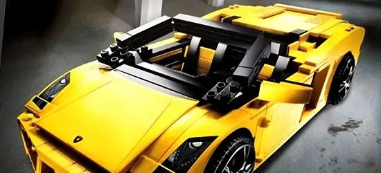 Lego Lamborghini Gallardo 741 Pieces Of Awesome Solidsmack