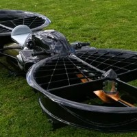 The Malloy Hoverbike Concept Cranks 110kg of Cool
