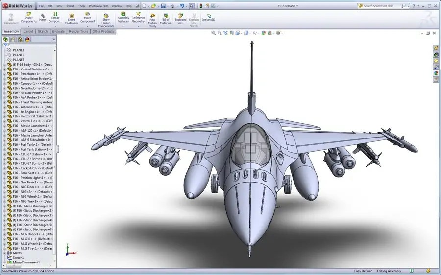 All New F 16 Solidworks Surfacing Tutorial