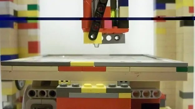 LEGObot: The Badass 3D Printer Made Out of Legos