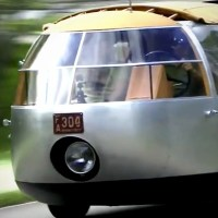 Buckminster Fuller's Three-Wheeled 1933 Dymaxion Car Hits the Road in 2015
