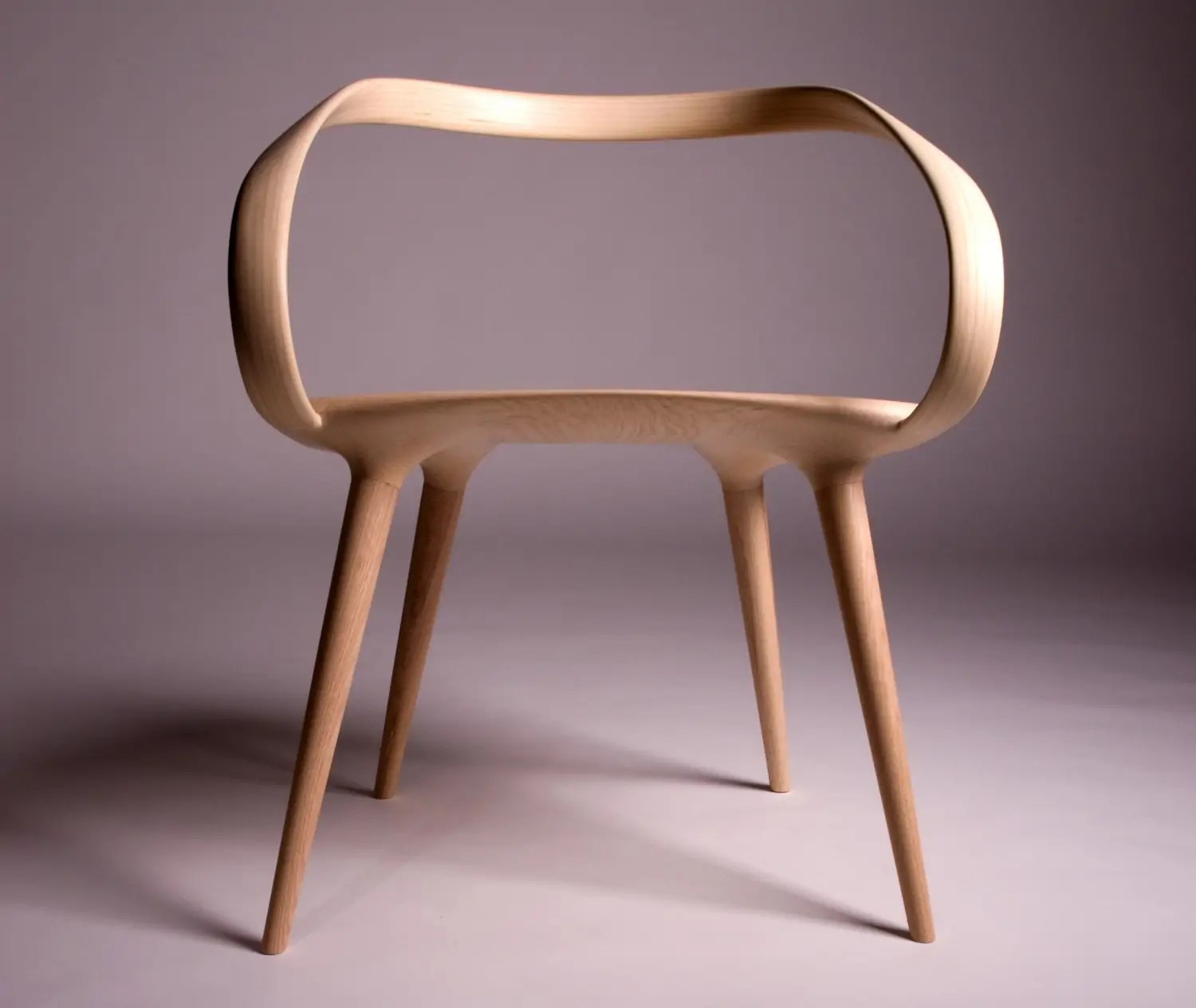 Made From Ash, The Unique And Modern Take On Bent Plywood Has  Unsurprisingly Earned Waterston Some Much Deserved Attention. This Week The  Chair Was ...