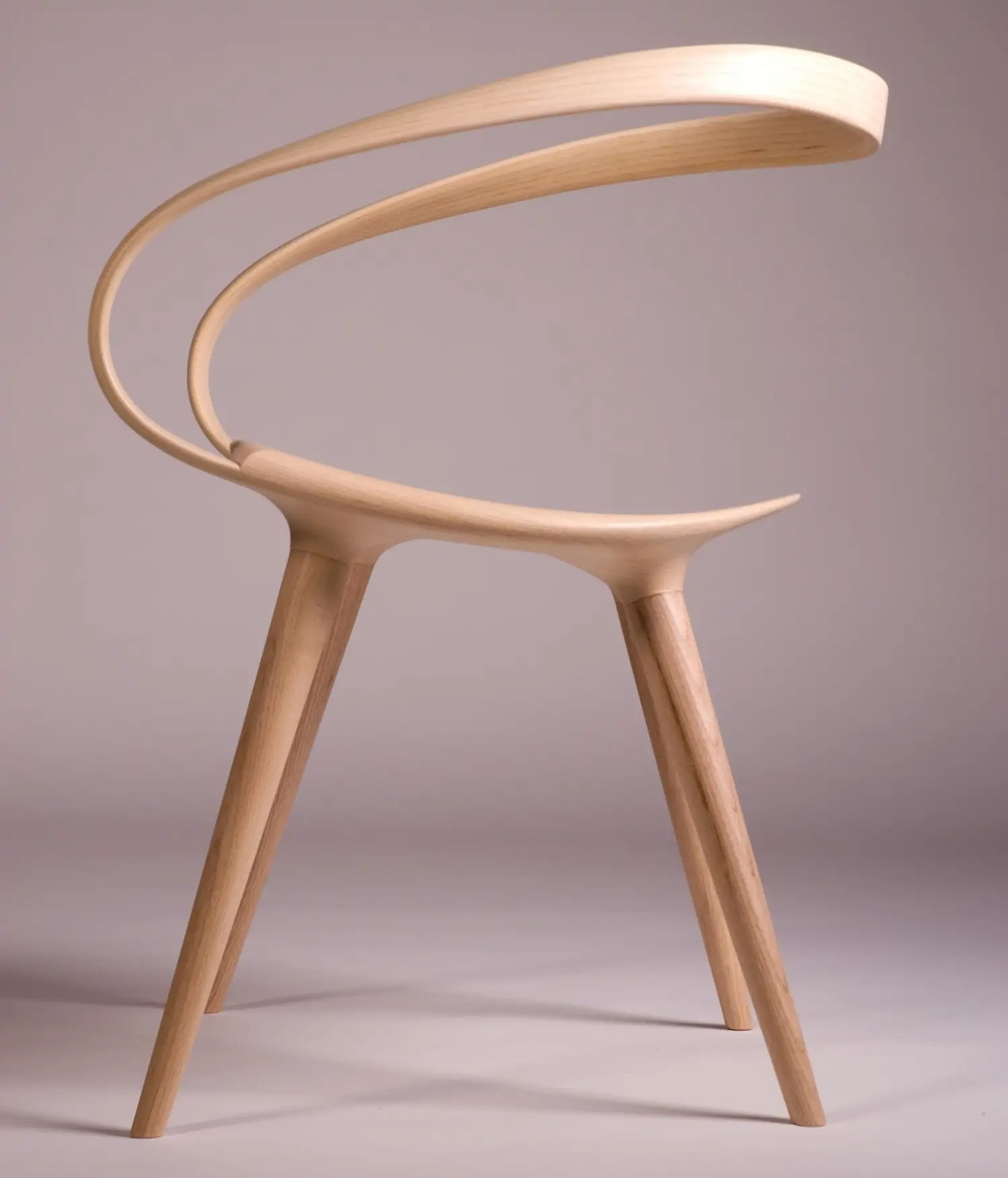 Genial Made From Ash, The Unique And Modern Take On Bent Plywood Has  Unsurprisingly Earned Waterston Some Much Deserved Attention. This Week The  Chair Was ...