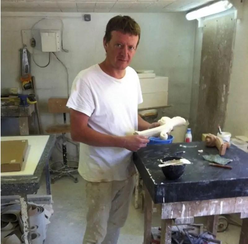 Alain Canard at work