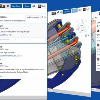 Top 3 Onshape Updates: Comment Chat, Angle Flange Ref, Surface Merge Scope
