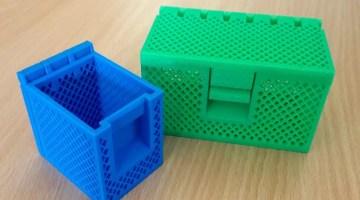 Model of the Week: Lattice Storage Box [For Yo' Schtuff!]