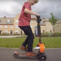 Garage Inventor Colin Furze Builds His Son a Jet-Powered Micro Scooter