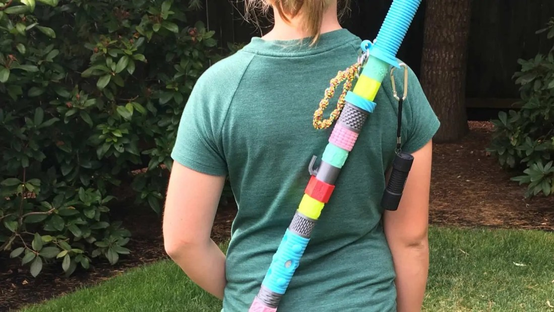 Model of the Week: Kid's Hiking Stick / Battle Staff Beads [Summit Achievement Earned!]