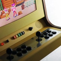 Love Hultén's Latest Handmade Arcade Cabinet is a Stunning Tribute to Pong