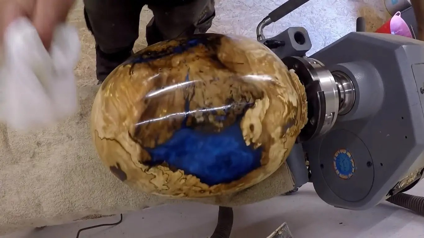 Watch a Woodworker Transform a Burl Into a 'Dragon Egg' on the Lathe
