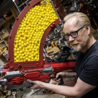 Adam Savage Mods Nerf Rival Blaster to Fire 1000 Plastic Balls