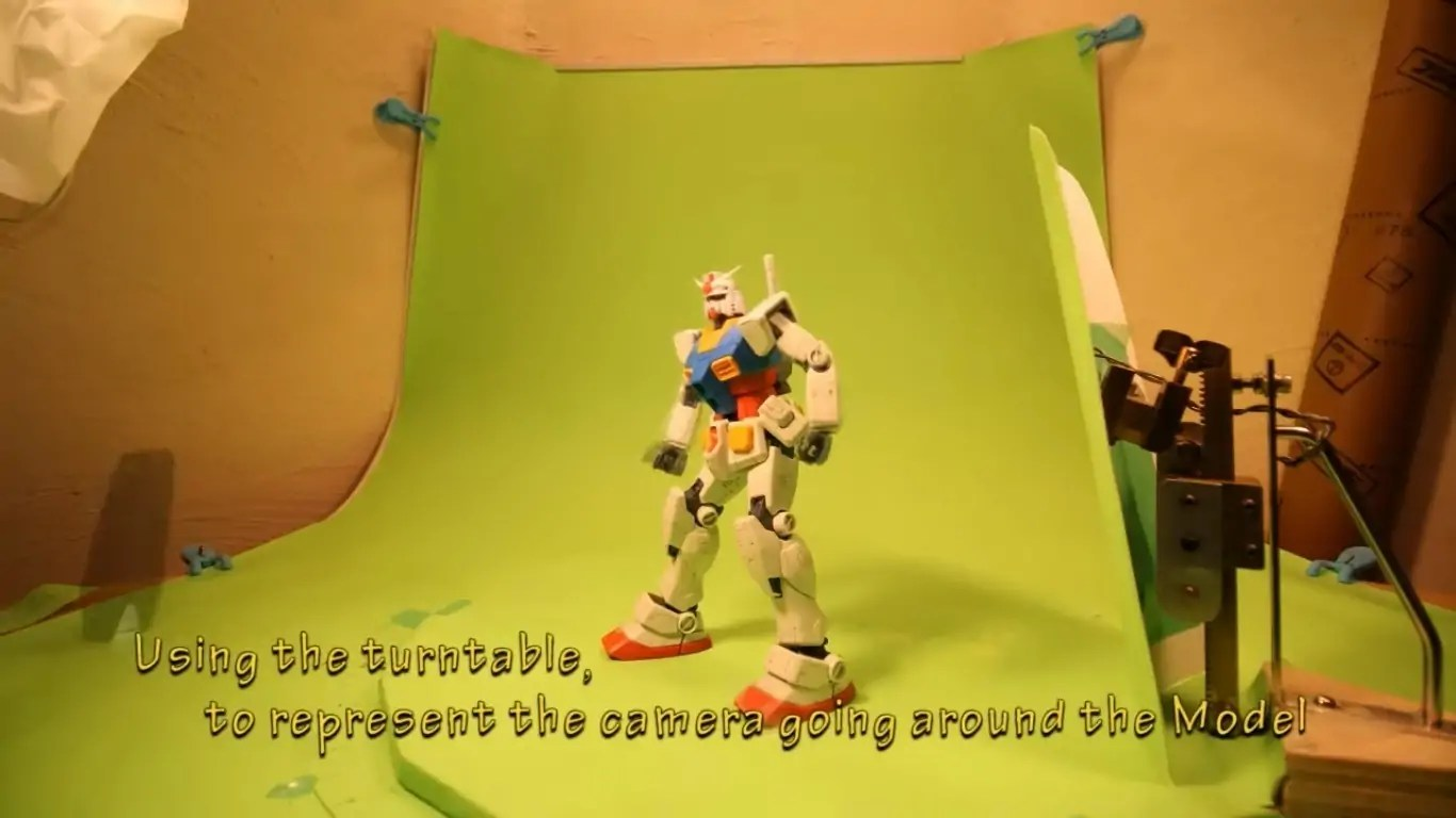 Gunpla Stop Motion Animation