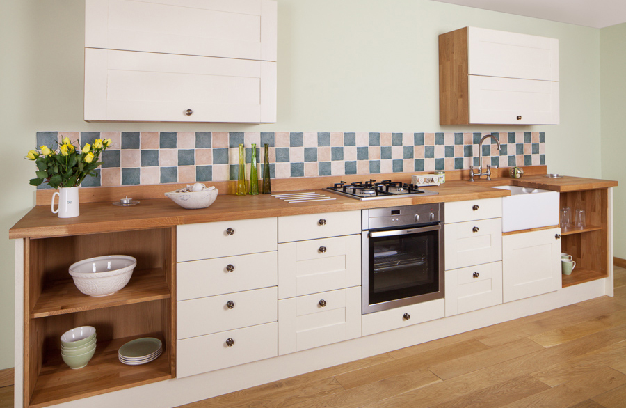 Solid Oak Wood Kitchen Unit Doors And Drawer Fronts